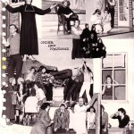12 Fotocollage van de voorstelling voor het schoolblad