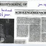 6 Vooruitblik in dagblad De Stem