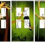 Monumentale kunst; Jungle Side detail 3