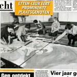 Bericht in De Telegraaf
