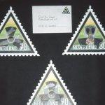 Serie met afgestempelde envelop