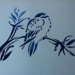 18. Eindresultaat vogelmotief