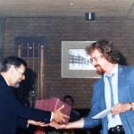 1984 Jan neemt afscheid