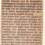 Aankondiging Brabants Nieuwsblad