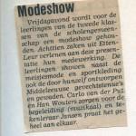 Aankondiging Dagblad De Stem