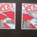 C.E. Peggy: affiches week 4 en 34