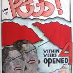 C.E. Peggy: affiche op werkelijk formaat