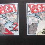 C.E. Peggy: affiches week 1 en 2