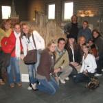 Met Tom en zijn groep op excursie in Den Bosch, 2007