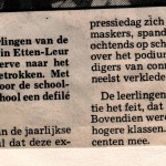 Artikel uit Brabants Nieuwsblad