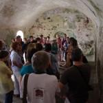 Rondleiding in de gewelven van het fort