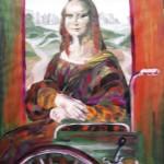 Hamide Dogan: 'Rolstoel Mona Lisa'