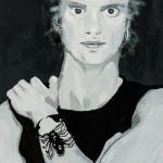 Miklos de Rijk: Mijn Idool (Sting-ik had geen idolen)-plakkaatverf