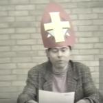 Screenshot uit het filmpje: Sint Tjeerd de Jong