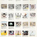 Miklos de Rijk, storyboard voor een videoclip