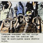 Miklos de Rijk, storyboard voor een videoclip detail Zengerink