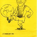 Onderwijsjubileum Jos 1992