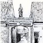 1978 Een van de tekeningen door Karin Kraus