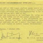 1983 Begeleidend schrijven directie