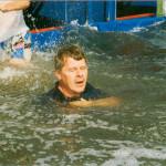 1988 Collega Tijs Bonger in de plomp!