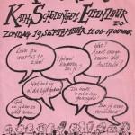 1993 Postertje reünie 25 jaar kse