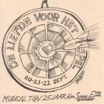 1993 Voorkant programma musical