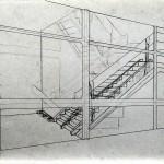 Trappenhuis, opgeschoonde schets