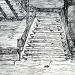 Trappenhuis, versie van Ingrid Verwijst