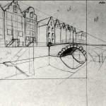 1985-00-titel(=opdracht-geen idee)-schets-potlood-33b * 24h-door Miklos de Rijk