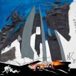 1985-12-Ongeluk(=opdracht-weet niet zeker)-final, afgekeurd-gouache-65b * 50h-door Miklos de Rijk
