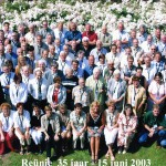 2003 docenten en oud-docenten