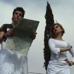 Presentatie bij de villa van Hadrianus