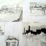 Vernieling milieu schetsen