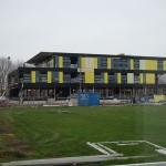 Het nieuwe brugklasgebouw