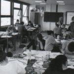 Leerlingen aan het werk tijdens het CPE 'In het groen'