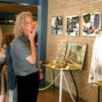 Bezichtiging van de expo