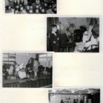 1969: sinterklaasviering in een volle aula op de brugklas