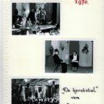 1970: Kerstviering in de aula van de brugklas