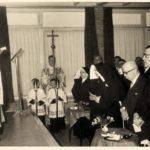 Op 1 februari 1958 werd het gebouw plechtig ingezegend