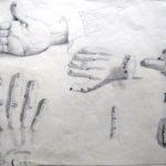 Studieblad handen