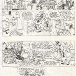 Uit het schoolblad: strip 1B
