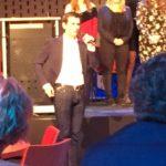 Gert-Jan bij de presentatie