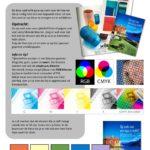 Kleur mengen tijdschrift