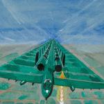 Raket afvurende straaljager