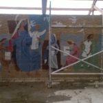 Waarschijnlijk de laatste foto's van de muurschildering