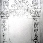 Schets poort Raadhuisplein