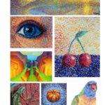Kleur pointillisme