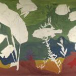 KSE tekenles klas 1D 1978-1979; Vissen in het aquarium, helaas onvoltooid