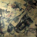 KSE tekenles 1983-1984 Vwo 6 Thinnerdruk en Oost-Indische inkt