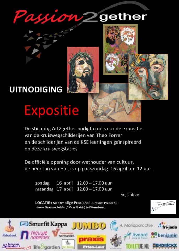 Het affiche voor de expo